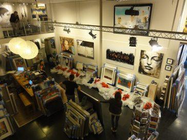 Nouvelles galeries aux Pays-Bas …