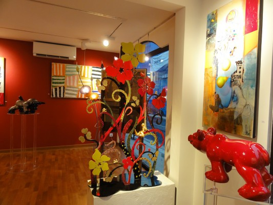 expo colors Galerie Sylvie Platini