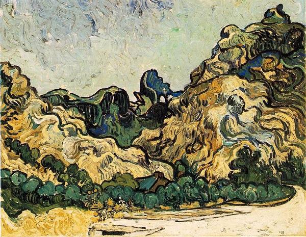 Van Gogh - St Paul  de Mausole- St Rémy de Provence