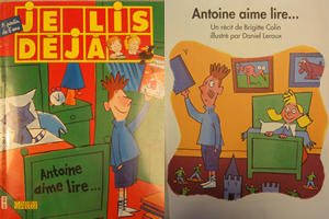 "Collection ""I read already"" Antoine love to read"