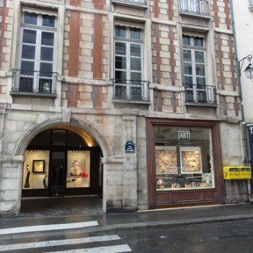Nouvelle galerie à Paris…