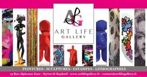 Art life gallery St Raphael