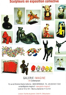 Expo Galerie IMAGINE à Bordeaux