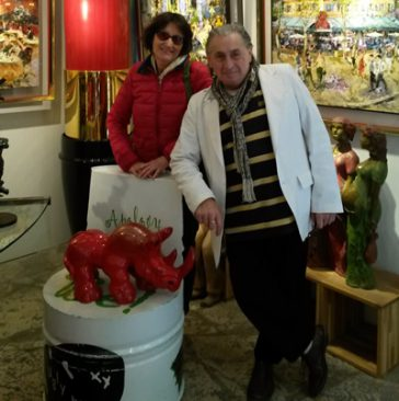 Galerie JOEL GUYOT à St Paul de Vence