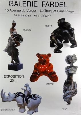 Expo Galerie FARDEL au Touquet Paris Plage