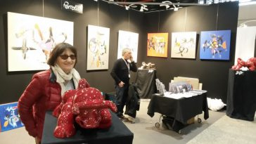 Le salon d'art contemporain art3f à Metz
