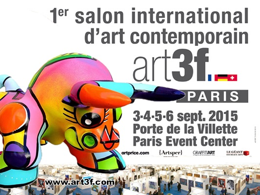 Art3f paris gite sculptrice for Salon porte de la villette