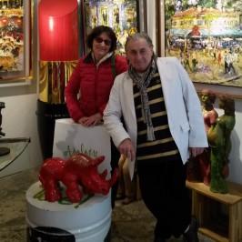 Gallery Joel Guyot to St Paul de Vence…