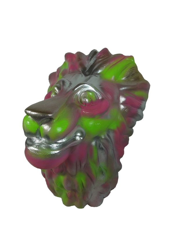 Lion-alu-painted
