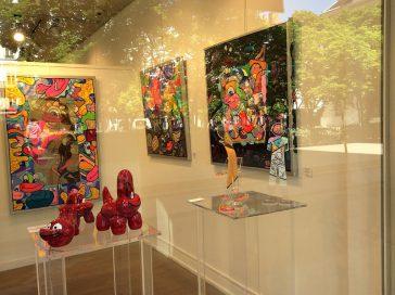 Exhibition gallery Sylvie Platini Lyon