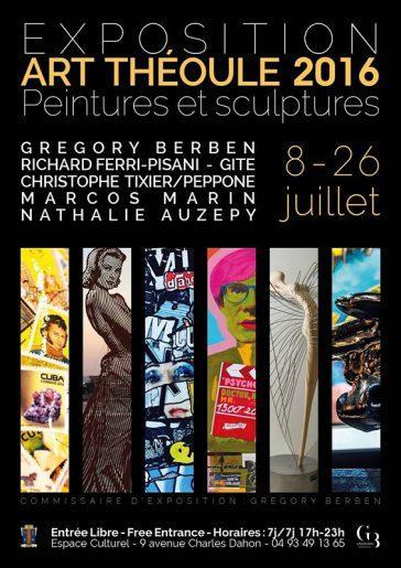 Exhibition to Théoule sur mer
