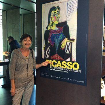 Picasso au musée Soulages – 2016